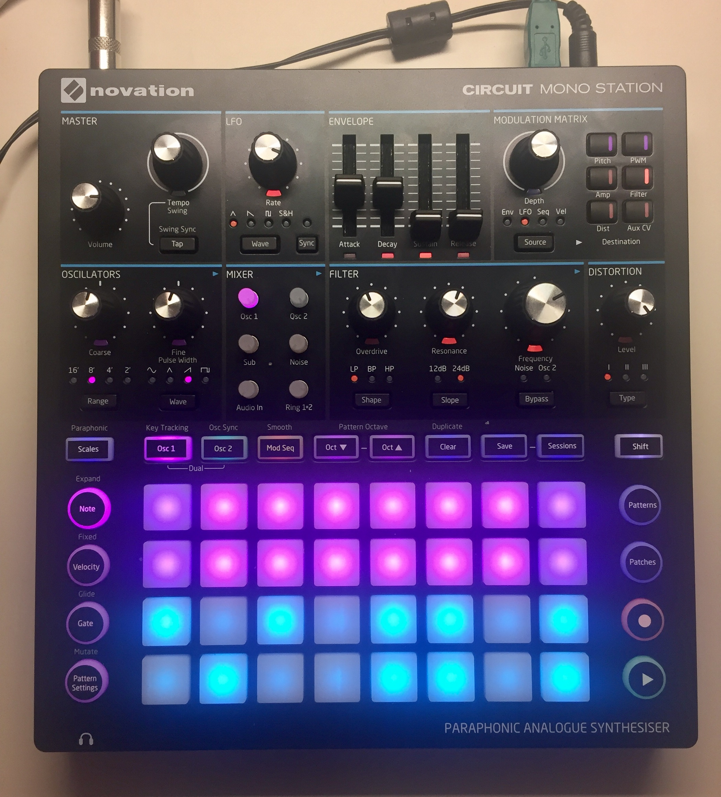 Saving A Circuit Mono Station Session To Novation Components Stereo Synthesizer Fullsizerender 5