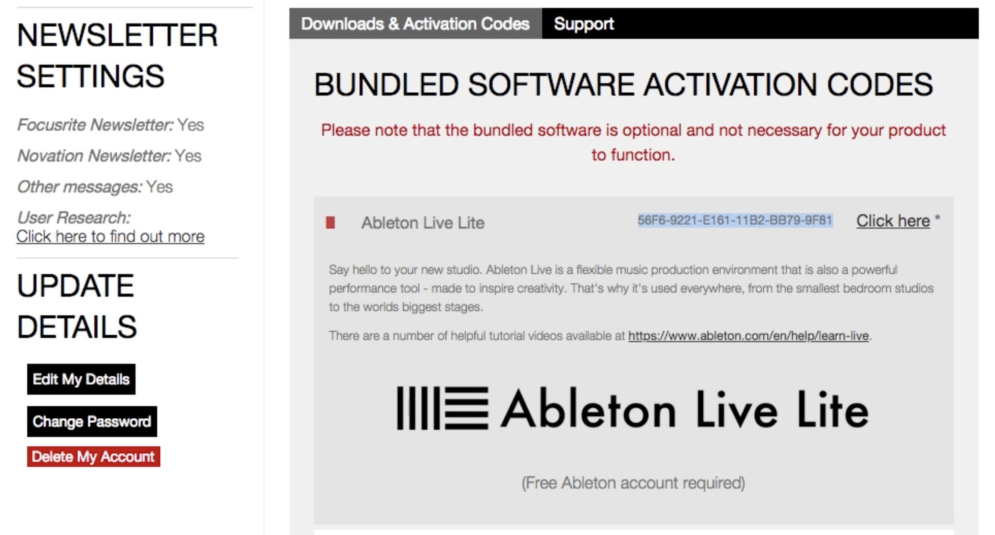 ableton live lite free upgrade