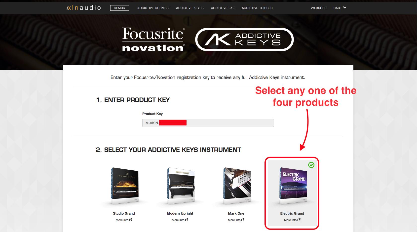 XLN Addictive Keys Plug In Activation – Novation