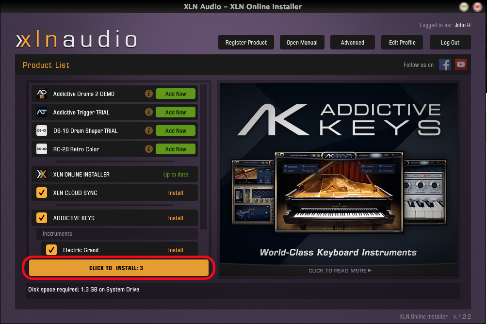 addictive drums 2 download free